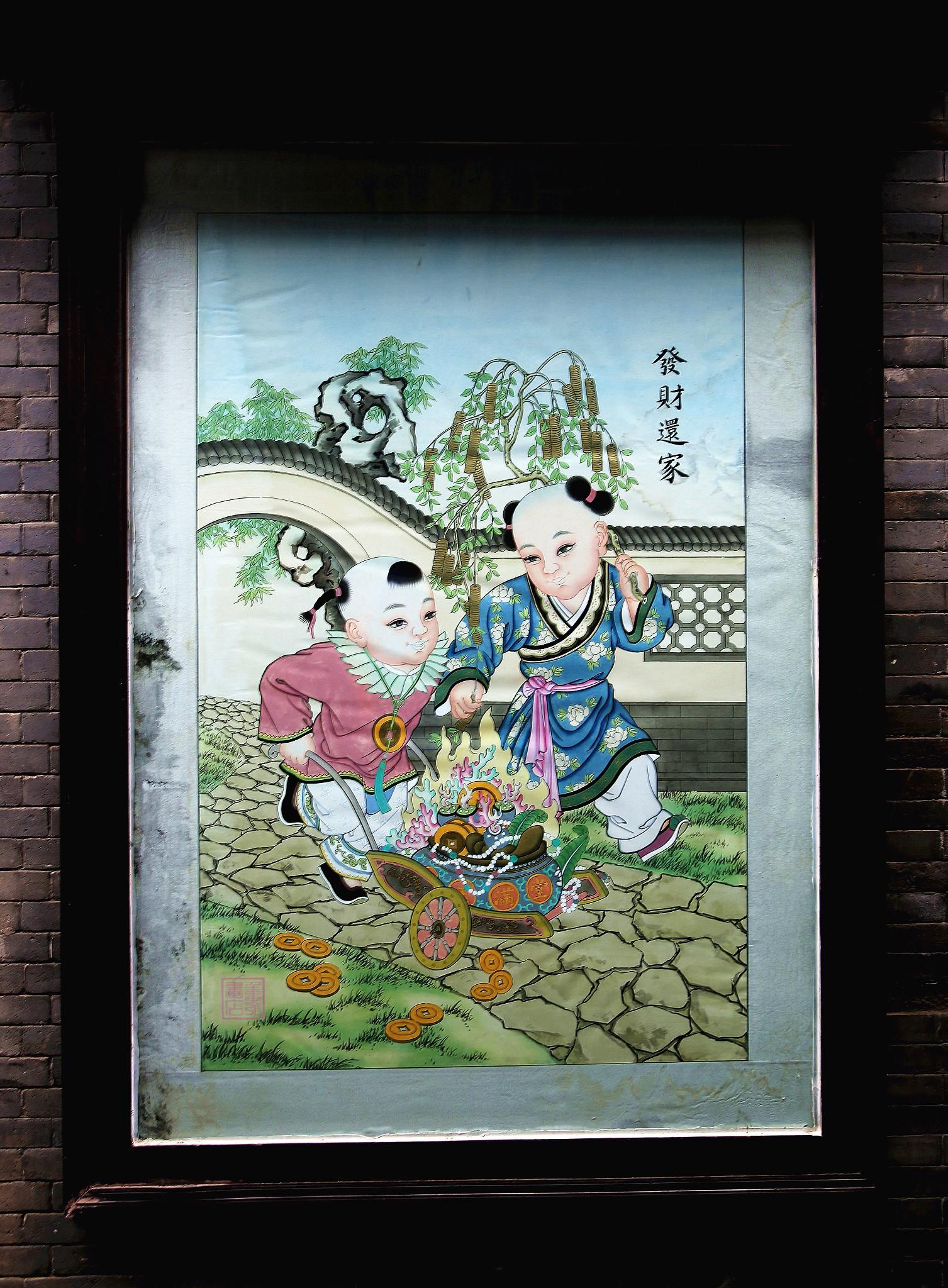 杨柳青:年画标志出来的古镇